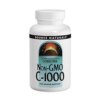 Källa Naturals Icke-GMO Vitamin C-1000, 240 Flikar