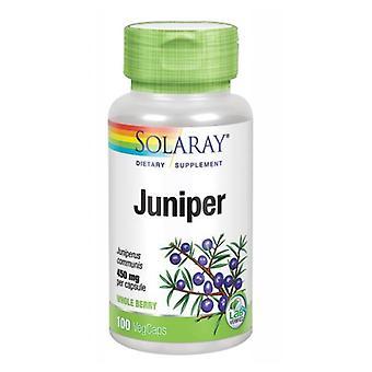 Solaray Juniper, 450 mg, 100 tappi