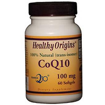 Healthy Origins Coq10, 100MG, 60 Softgels