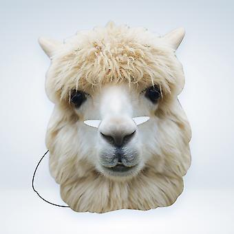 Máscara de cara de fiesta De la máscara de alpaca alpaca