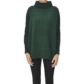 Aragona Ezgl157041 Women's Green Cashmere Sweater