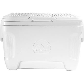 IGLOO Marine Contour 25 qt. Hard Cooler - White