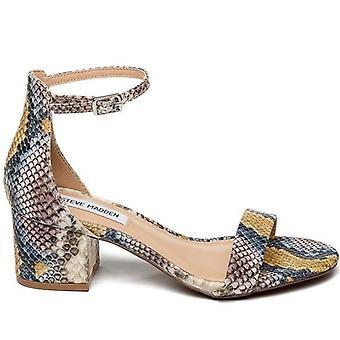 Steve Madden Irenee Multicolor Python Effekt Sandal