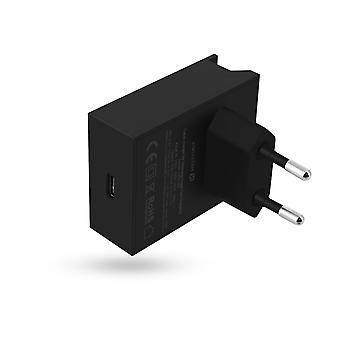 USB Type C 20W Power Delivery Charger Quick Charge Swissten Black