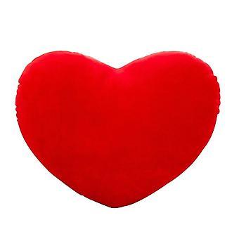 شكل القلب محشوة لينة رمي وسادة رمية لعب / أريكة / سيارة / ديكور المنزل (تقريبا.