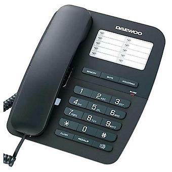 Drahtloses Telefon Daewoo DTC-240 Schwarz