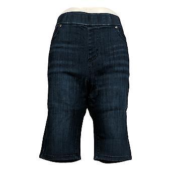 Kelly von Clinton Kelly Frauen's Shorts Pull-On Bermuda Style Blau A305902