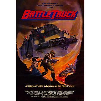Battletruck elokuvan juliste tulosta (27 x 40)