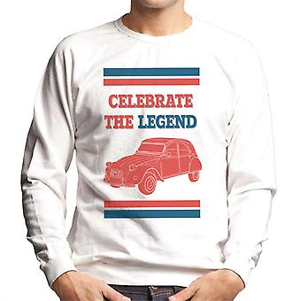 Citro?n 2CV Celebrate The Legend Men's Sweatshirt