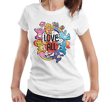 Pflege Bären entsperren die magische Liebe alle Frauen's T-Shirt
