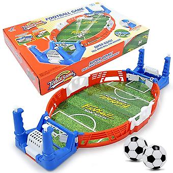 Mini Table-top, Football Shoot Game Board, Match Kit Indoor, Soccer For (azul)