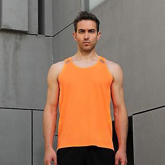 Mens Running Vest Gym Sleeveless Shirt Summer Slim Tank Sport Top New Workout
