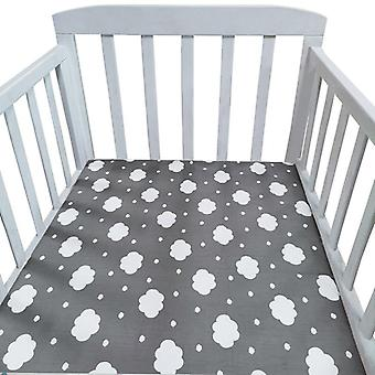 Fitted Bed Sheet For Newborns,crib Bed Sheet ,children Mattress Cover Protector