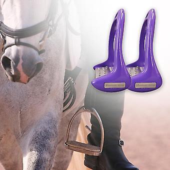 دواسة معدات الركاب الحصان، ومكافحة الانزلاق الفروسية سلامة سبائك الألومنيوم