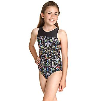 Zoggs Girls Maia Infinity Back Swimsuit