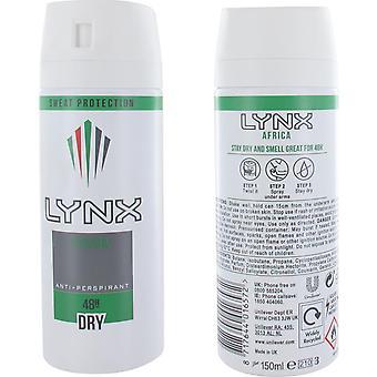 Lynx Africa Deodorant & Body Spray 150ml for Men