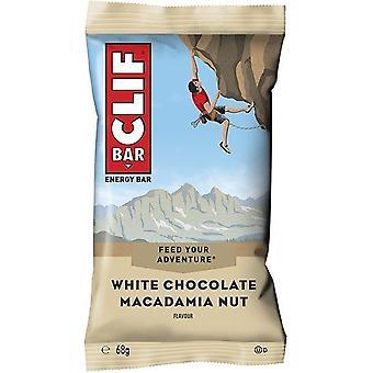 Clif Valkoinen Suklaa Macadamia Energy Bar 68g x12