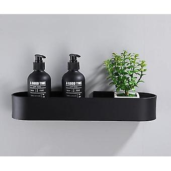 30-50 cm space aluminium zwarte badkamer planken, keuken wandplank douche,