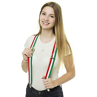 Shenky Italy high quality suspenders with 3 clips clips Y-shape