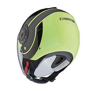 Caberg Riviera Sway Flo Open Face Motorcycle Helmet Hi-Vis Reflective Fluo