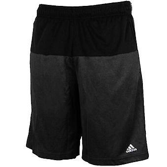 Adidas Performance Basemid Short K Black Polyester Mens S11496 A78B