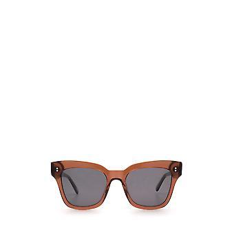 Chimi #005 brown unisex sunglasses