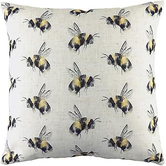 Evans Lichfield Bee You Repeat Print Cushion Cover