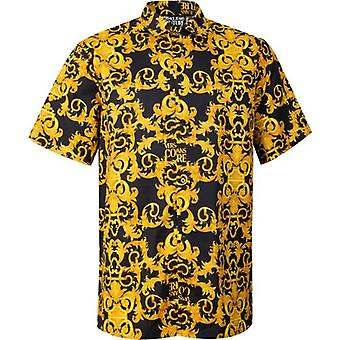 Versace Jeans Couture Baroque Print Short Sleeved Shirt