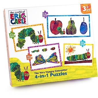 University Games Very Hungry Caterpillar 4in1 Puzzle