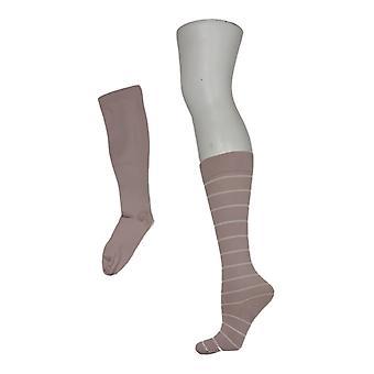 Legacy Women's Socks Compression Set Of 2 Pink A370510