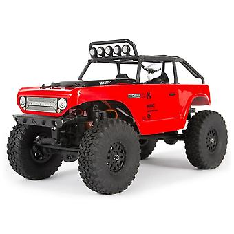 Axial SCX24 Deadbolt 1:24 Electric 4WD Rock Crawler RTR Red
