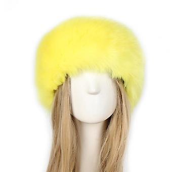 القبعات فوكس فور الروسية فروي Hairband