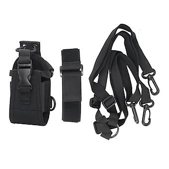 Multifunctionele Tactische Walkie Talkie Opbergtas Interphone Bag Intercom Radio Case Holder Pouch B