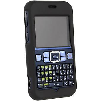 Rubberized protective Case for Sanyo 2700 - Black