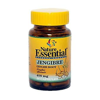 Ginger 50 capsules of 400mg