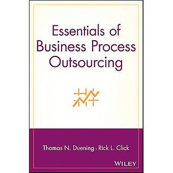 أساسيات الاستعانة بمصادر خارجية العملية التجارية من قبل توماس ن. Duening - 978