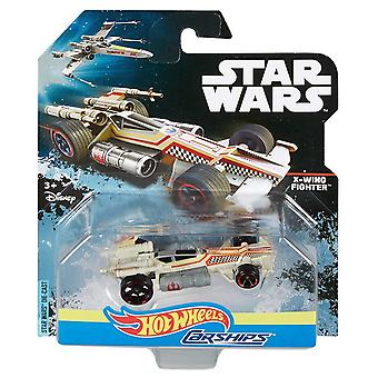 Hot wheels star wars x-wing fighter carship