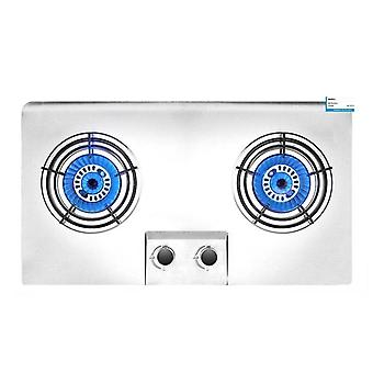 Double Burner Household Embedded Natural Gas Stove