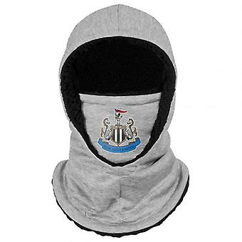 Newcastle United Hooded Snood Grey Adults