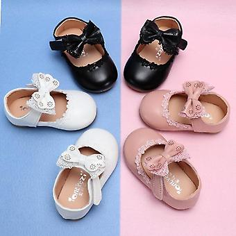 Leather Bow Knot Comfortable Shoes