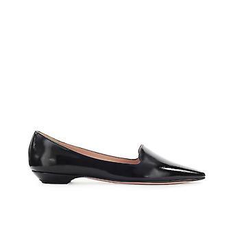 Roberto Festa Black Patent Leather Lottie Ballet Flat