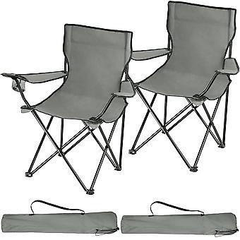 tectake 2 Camping stoler Gil