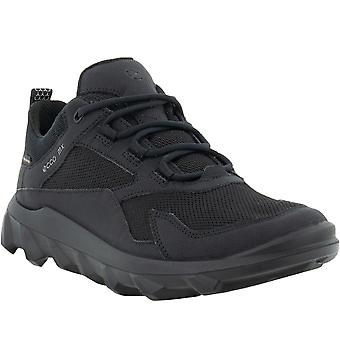 ECCO Womens MX Outdoor Gore-Tex Waterproof Trainers Sneakers Shoes - Black