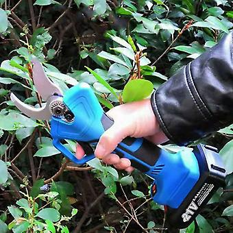 Electric Rechargeable Pruning Scissors Pruning Shears Garden Cutting Tool