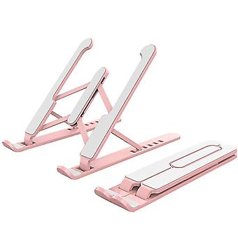 Portable Foldable Height Adjustable Support Base Computer Cooling Stand