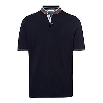 BRAX Pollux Structure Jersey T-Shirt, Blue (Dark Navy 22), Small Man