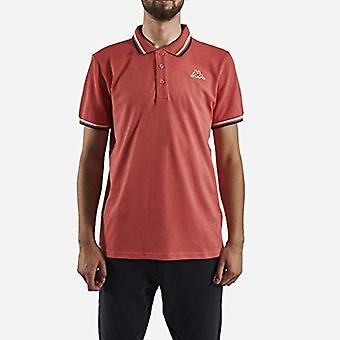 Kappa ESMO, T-shirt för män, rose, blanc, bleu marine, L