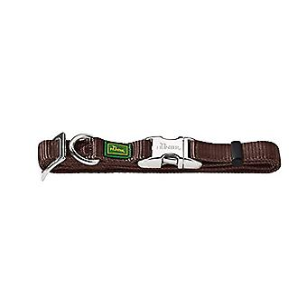 HUNTER Vario-Basic Collar Alu-Strong, L/25marrone, Nylon