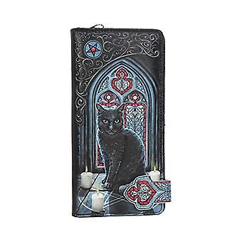 Nemesis Now Sacred Circle Lisa Parker - Embossed handbag, 19 cm, in PU, 18.5 cm, color: Black