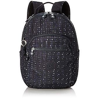 Kipling SEOUL S School Backpack, 35 cm, 14 l, Multicolored (TILE PRINT)
